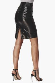 Margot Vinyl Skinny Skirt