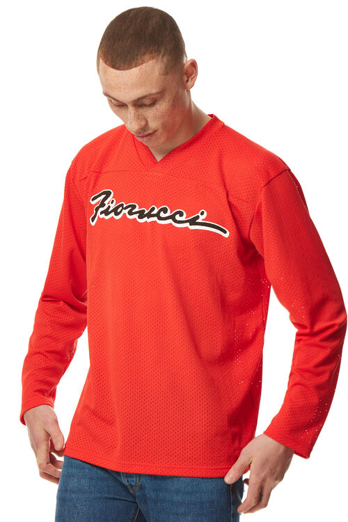 Mesh Long Sleeve T-Shirt