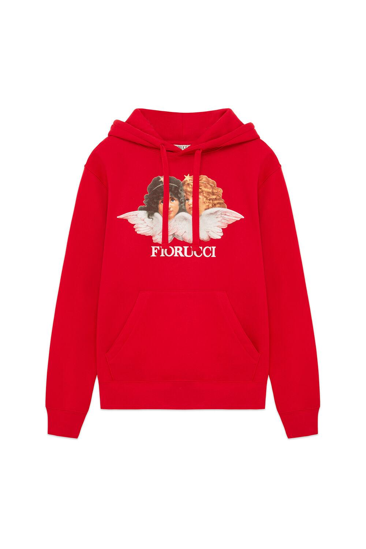 Angels Logo Hoodie Red