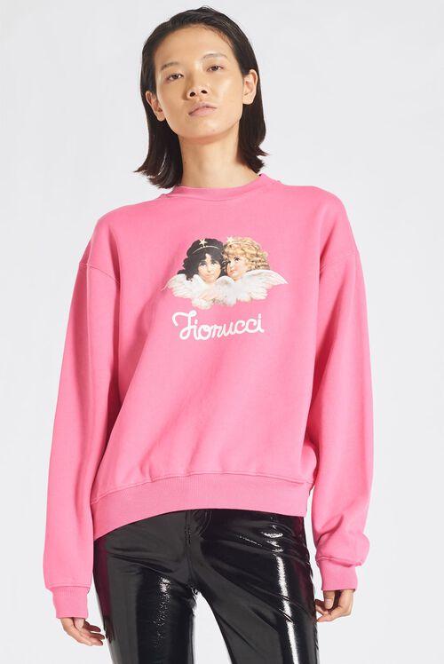 Angels Sweatshirt Pink