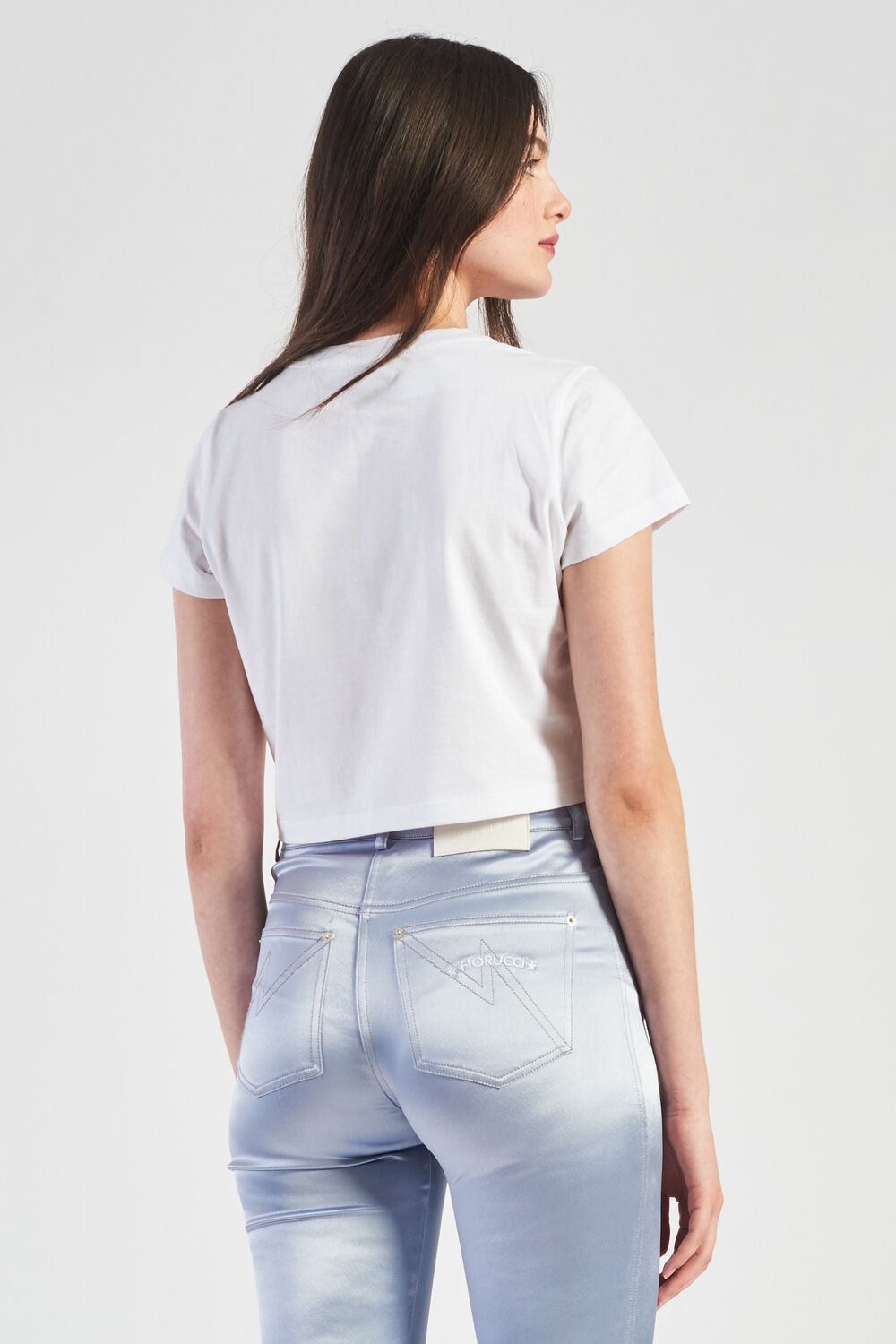 Commended Crop T-Shirt White