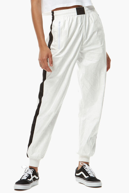 Tyvek Band Detail Joggers White