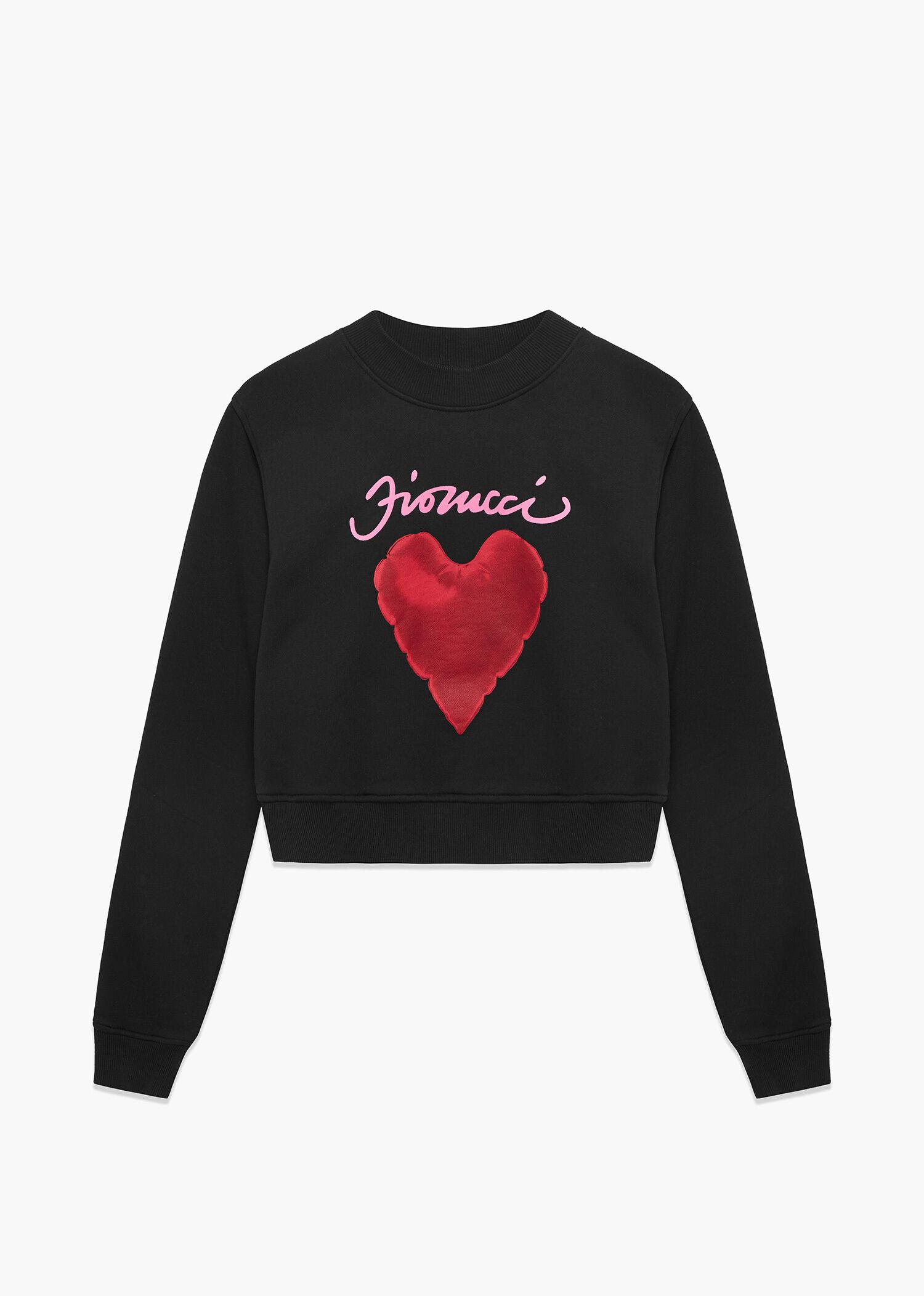 I Love Heart United Kingdom Black Sweatshirt