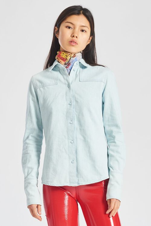 Jockey Denim Shirt Blue
