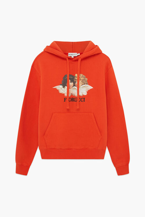 Angels Hoodie Orange