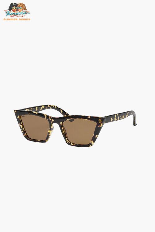 Reality Eyewear Lizette Honey Turtle Sunglasses