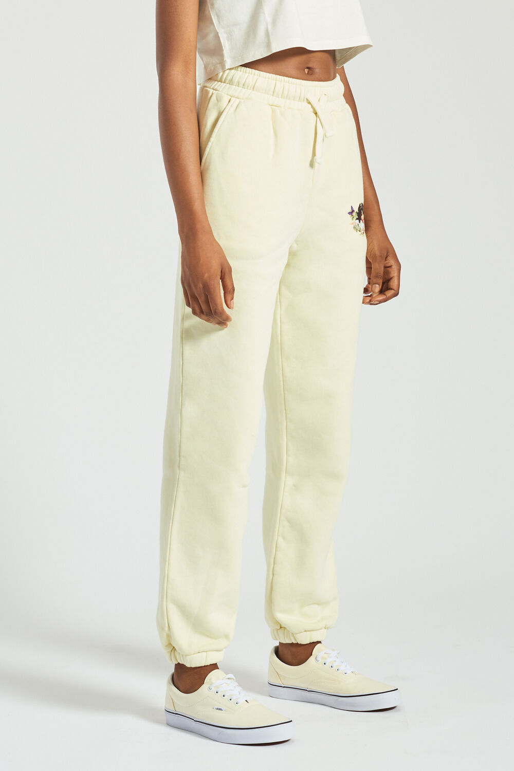 Woodland Angels Patch Jogger Pale Yellow