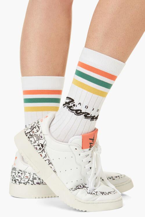 Adidas x Fiorucci Printed Socks