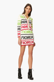 Logo Knitted Skirt Multicolour