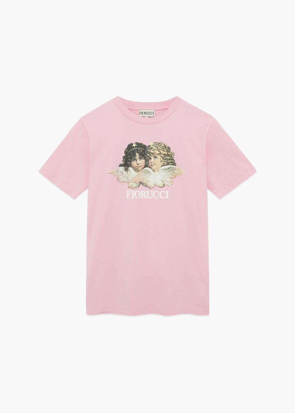 Angels Logo T-Shirt Bubblegum