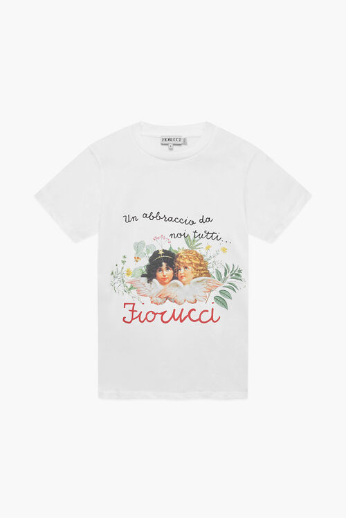 Fiorucci Worldcare Charity T-Shirt White