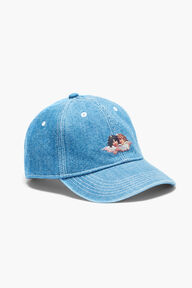 Denim Angel Cap