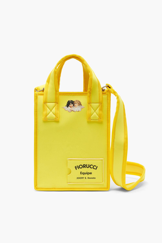 Equipe Logo Scuba Tote Bag Yellow