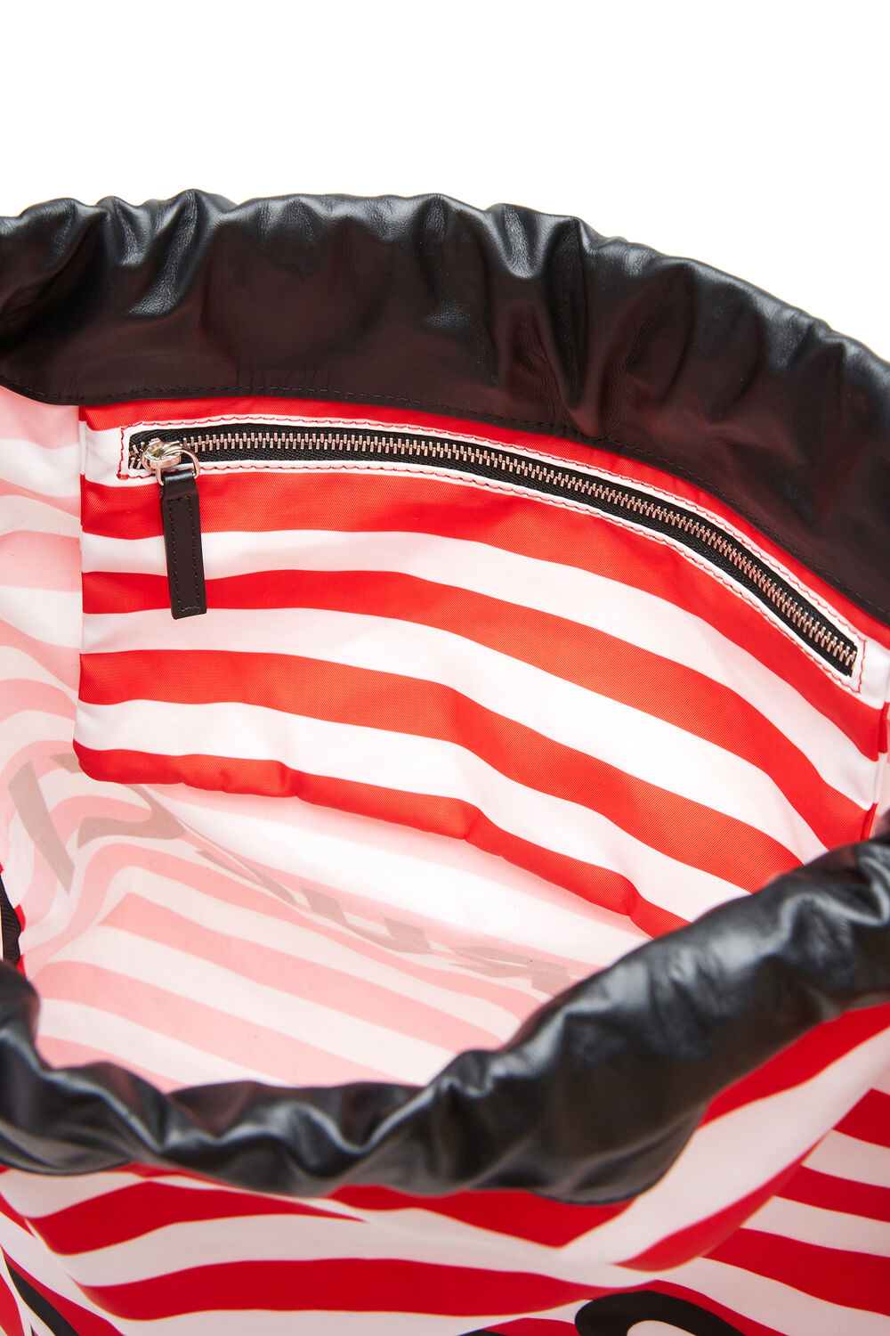 Stripe Drawstring Bag Stripe