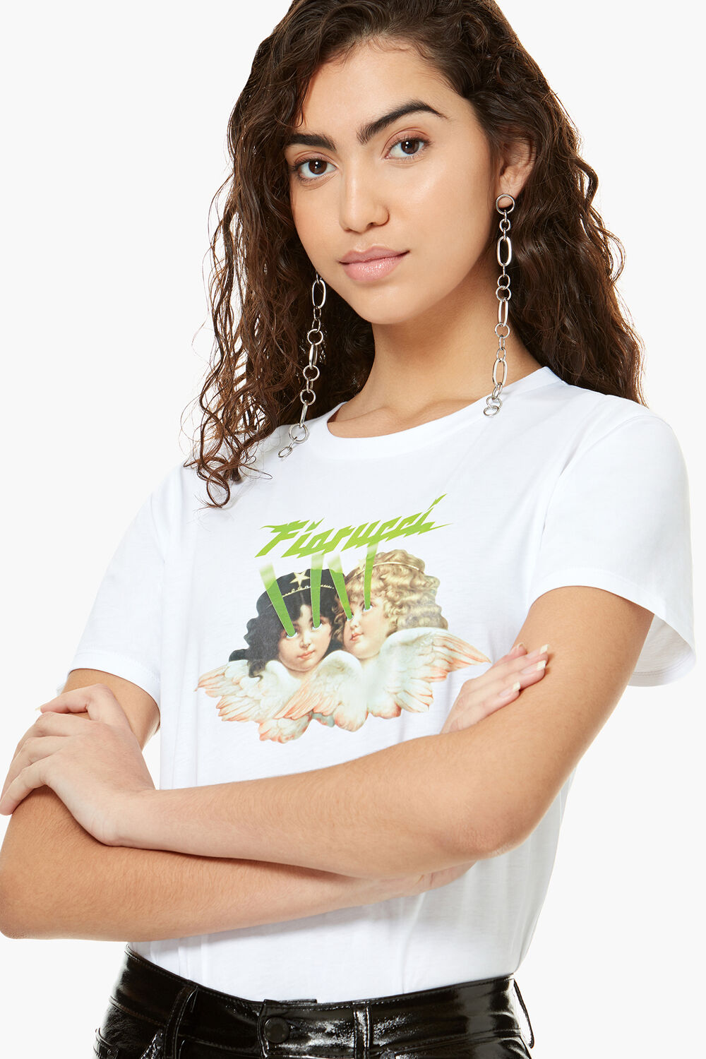 Angels Laser T-Shirt White