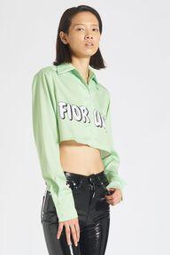 Fiorucci Logo Shirt Green