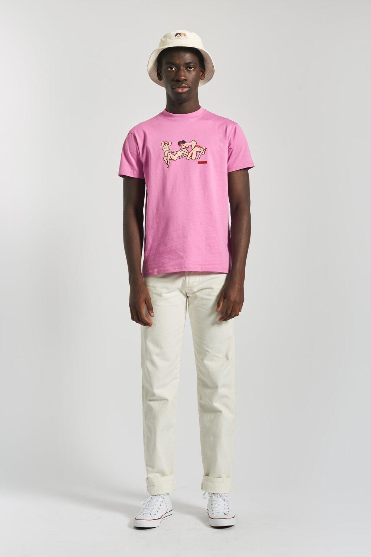 Free Love T-Shirt Pink