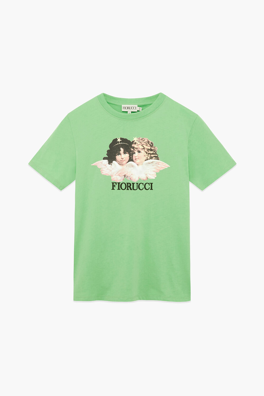 Angels Logo T-Shirt Italian Green