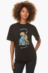 Fiorucci Worldcare Charity T-Shirt Black