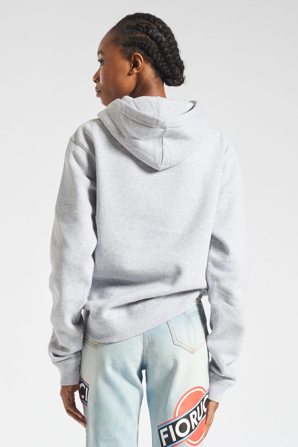 Angels Hoodie Light Grey