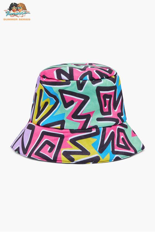 Tara Khorzad Zigzag Clash Bucket Hat
