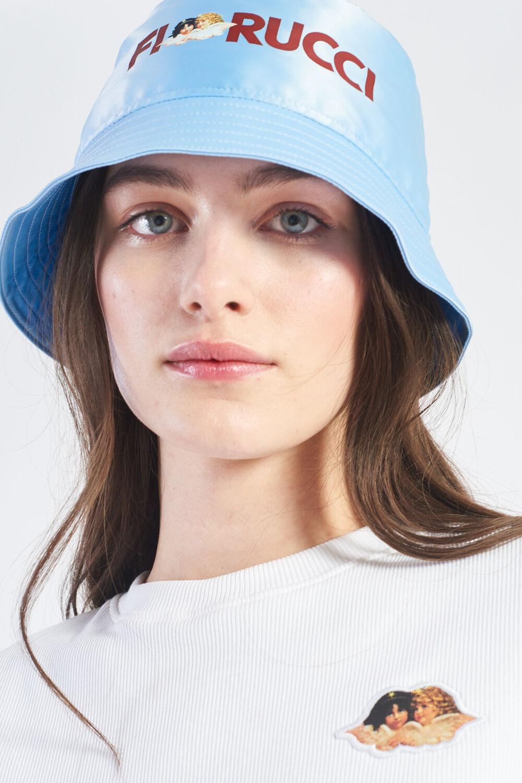 Logo Angels Bucket Hat Pale Blue