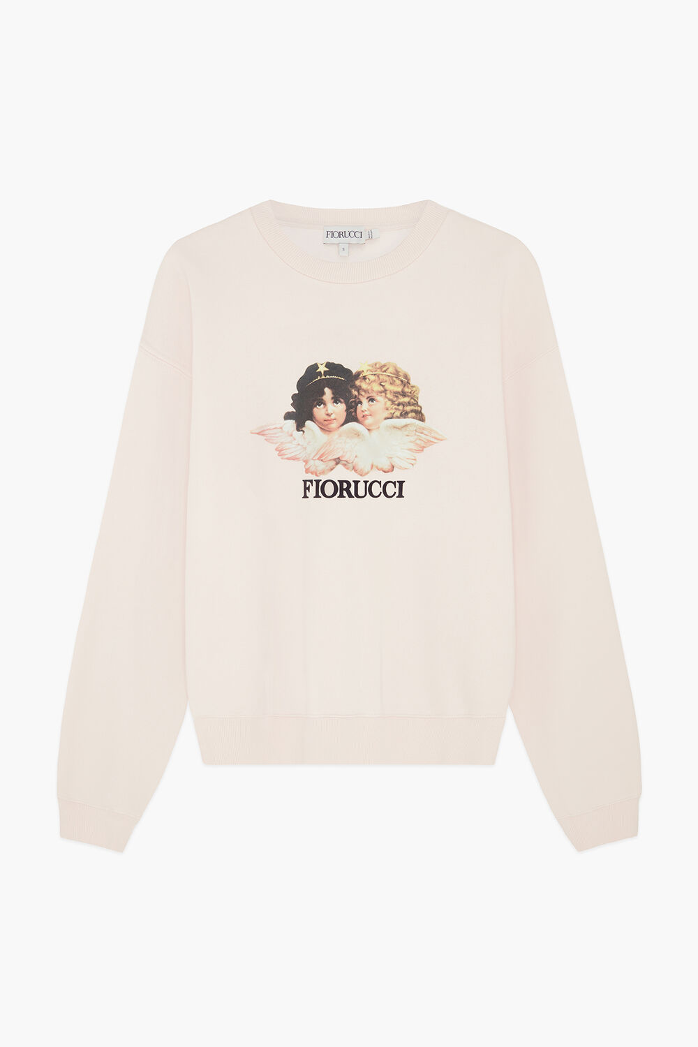 Angels Sweatshirt Pale Pink