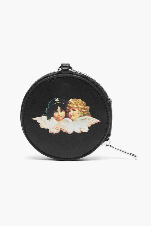 Angels Coin Purse Black