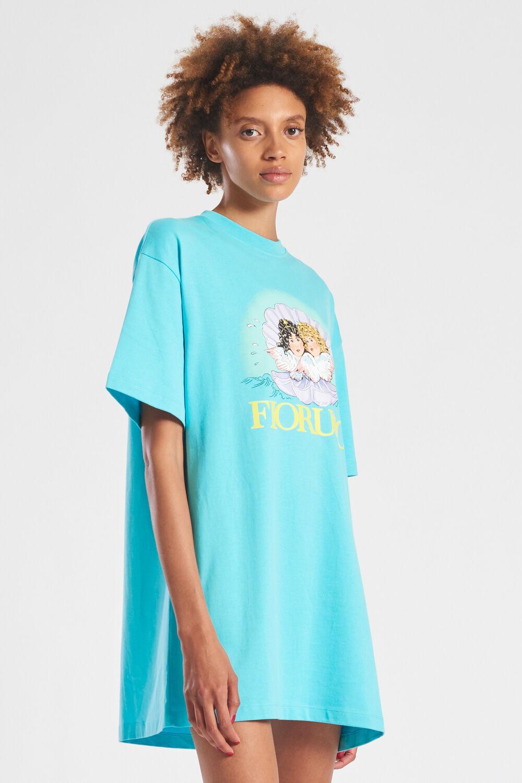 Venus Angels T-Shirt Dress Blue