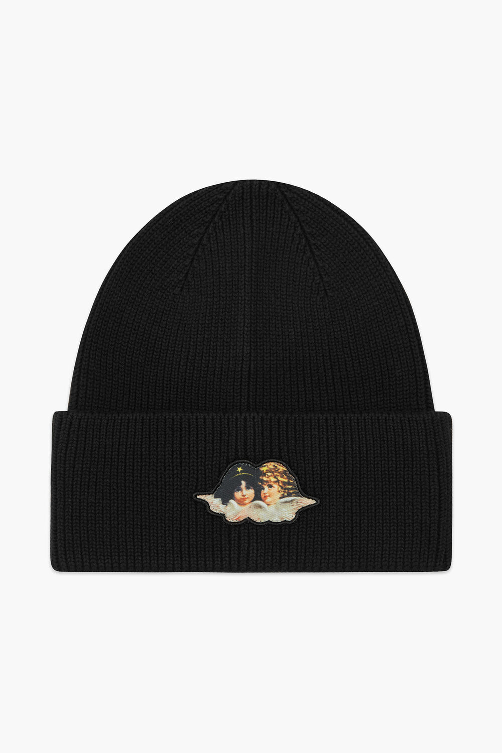 Icon Angels Patch Beanie Black