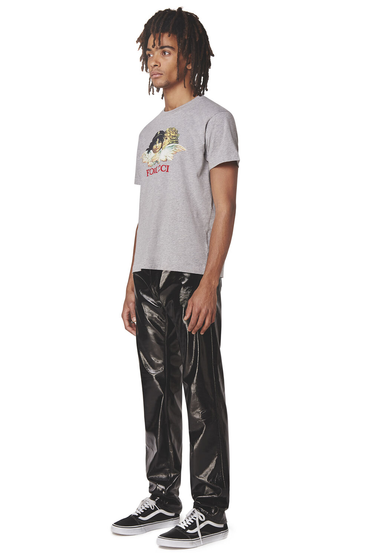 Rowan Vinyl Slim Jeans