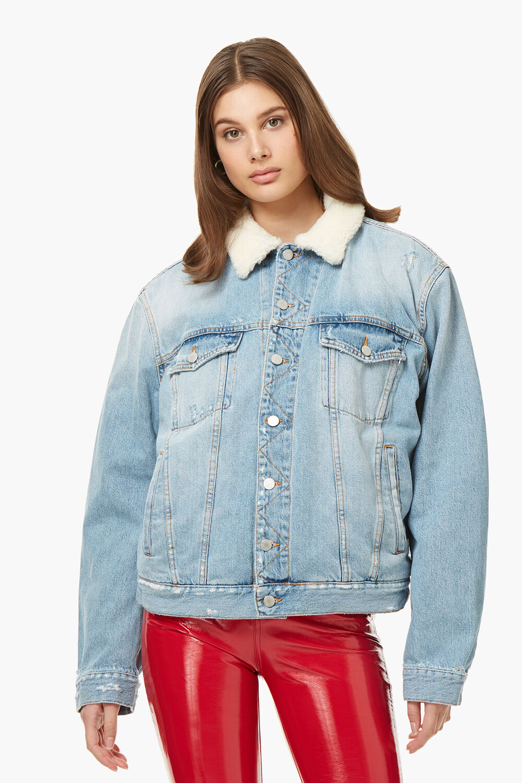 Nico Shearling Trucker Jacket