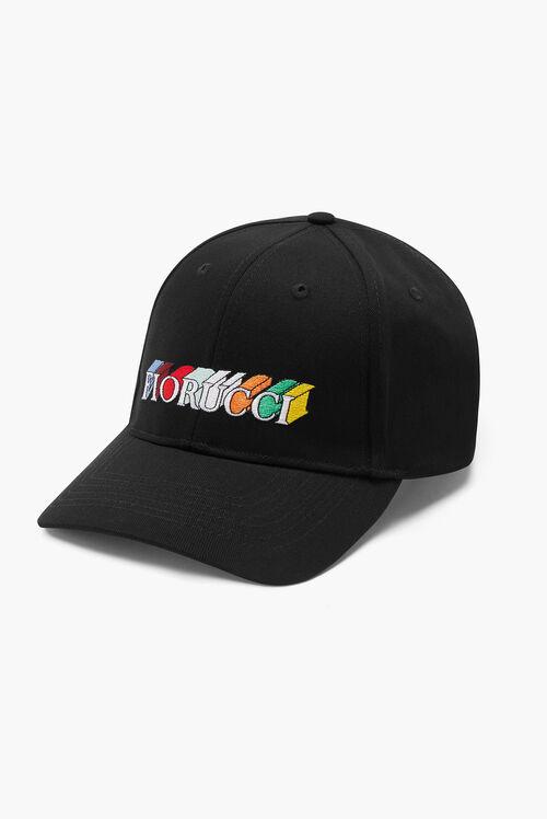 Monogram Logo Cap Black