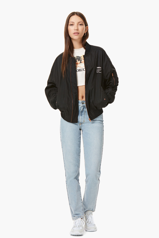 Lou Bomber Jacket Black