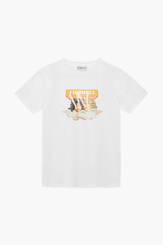 Vintage Angels Lights T-Shirt White