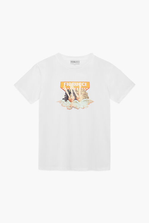 Vintage Angels Lights T-Shirt White