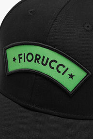 Fiorucci Star Logo Cap Black