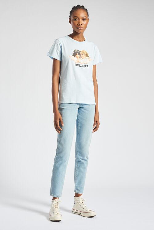 Angels T-Shirt Pale Blue