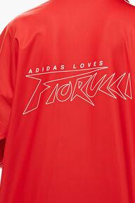 Adidas x Fiorucci Long Jacket Red