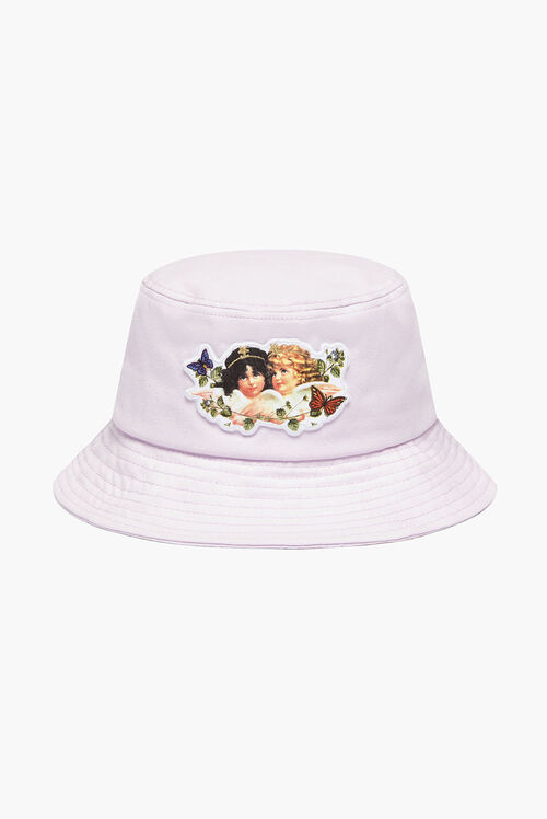 Woodland Angels Bucket Hat Lilac