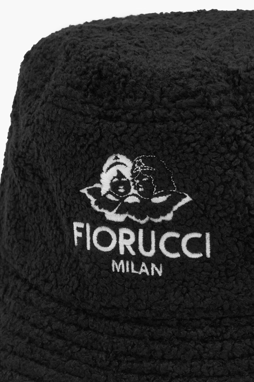 Milan Angels Shearling Bucket Hat Black