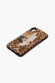 Angels Leopard Print iPhone Case