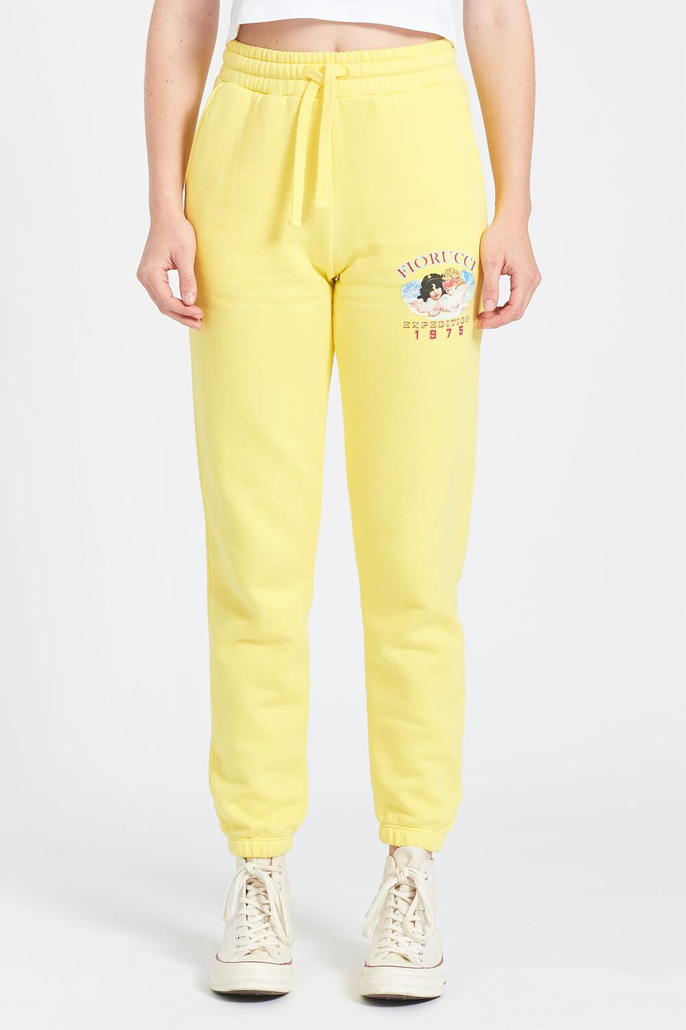 Snow Angels Joggers Yellow