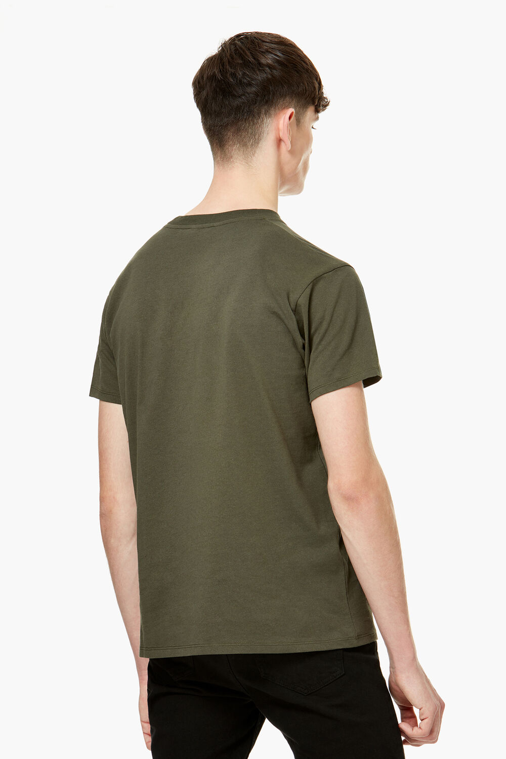 Angels T-Shirt Olive Green