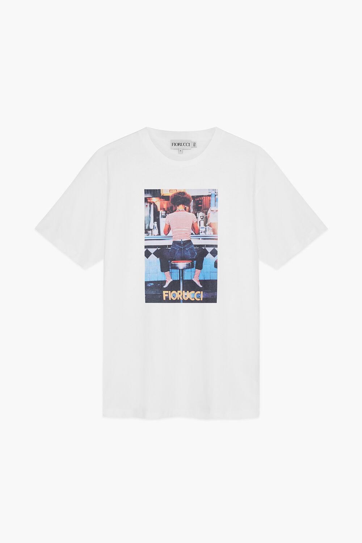 Diner Girl T-Shirt White