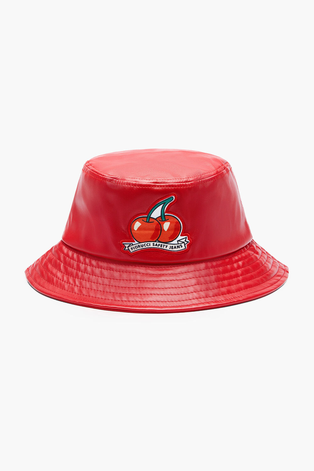 Cherry Vinyl Bucket Hat