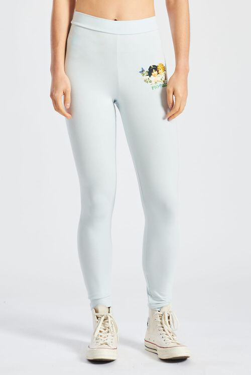 Woodland Angels Leggings Pale Blue