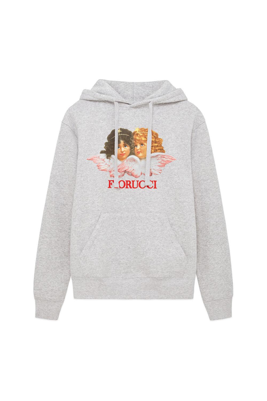 Angels Logo Hoodie Grey