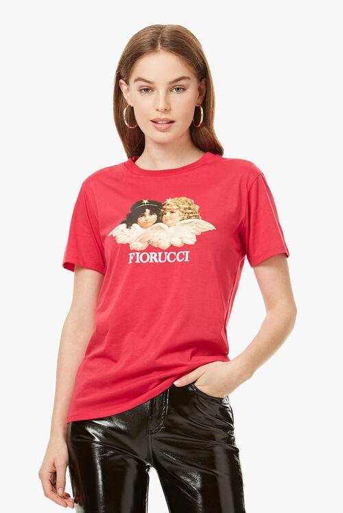 Vintage Angels T-Shirt Rubin Red