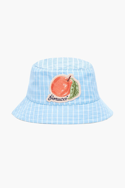La Pesca Check Bucket Hat Blue